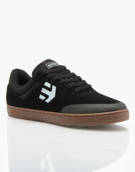 Etnies Marana (Ryan Sheckler) Skate Shoes - Black/Gum/Grey