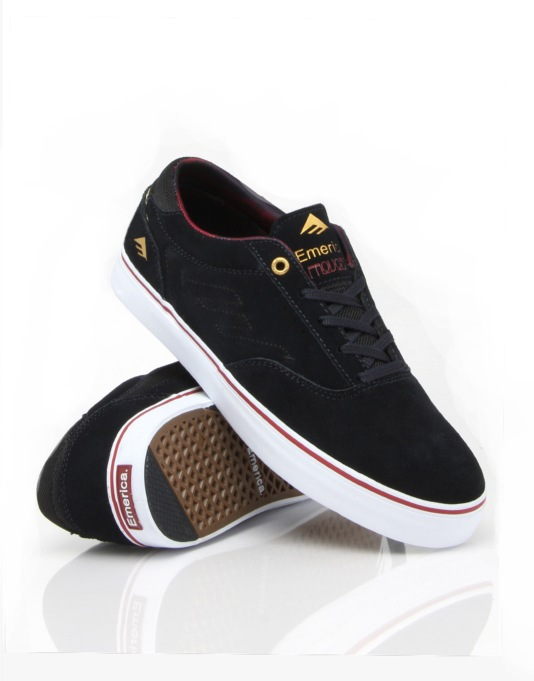 Emerica The Provost Skate Shoes - Dark Navy