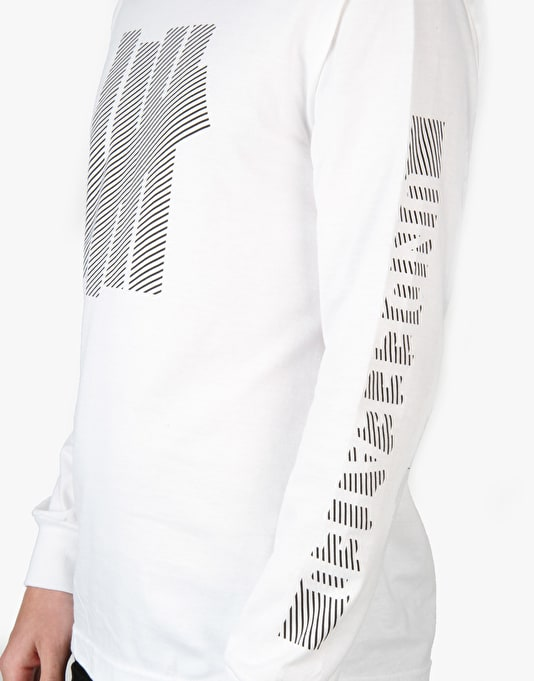 Undefeated Caution L/S T-Shirt - White