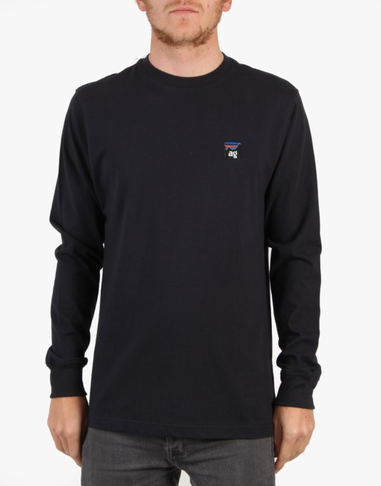 Acapulco Gold Summit L/S T-Shirt - Navy