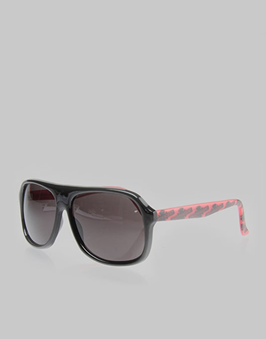 Independent Foolin Sunglasses - Black/Red
