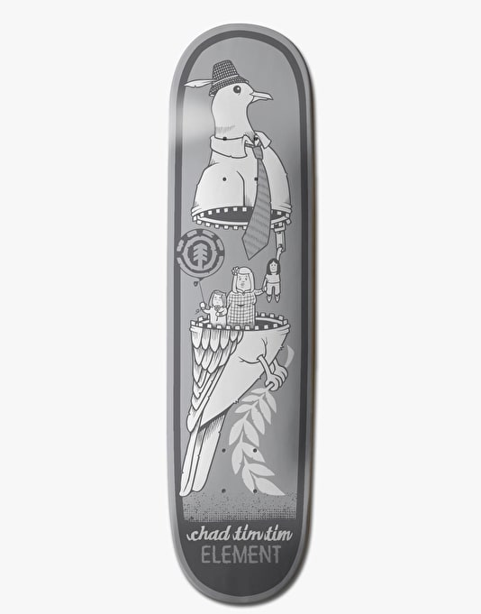 Element x Jeremy Fish Tim Tim Zipper Featherlight Pro Deck - 8.125""