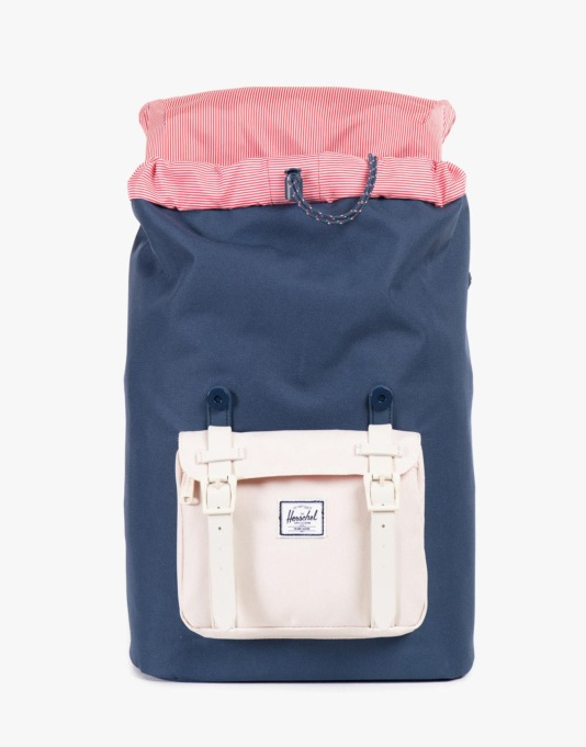 Herschel Supply Co. Little America Mid Volume Backpack - Navy/Natural