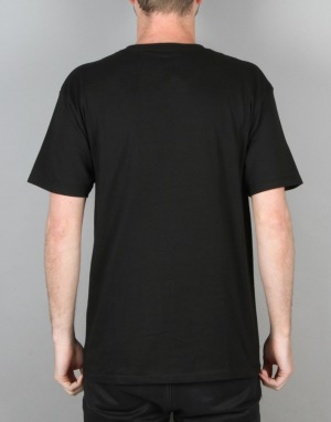 HUF Box Logo Pocket T-Shirt - Black
