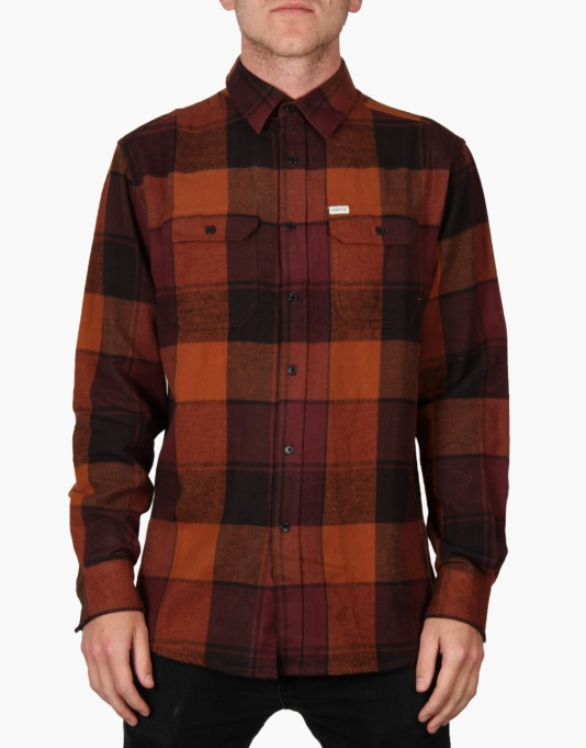 Matix Betters L/S Shirt - Burnt Orange