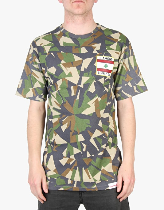 Diamond Supply Co. My Country T-Shirt - Camo