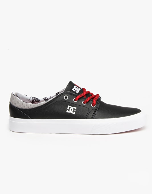 DC x Ben Davis Trase Skate Shoes - Black