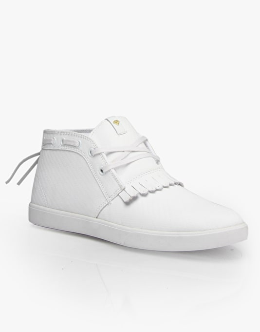 Diamond Supply Co. Jasper Skate Shoes - White