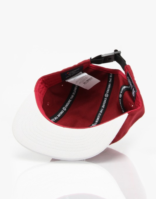 Element Desmond 5 Panel Cap - Oxblood
