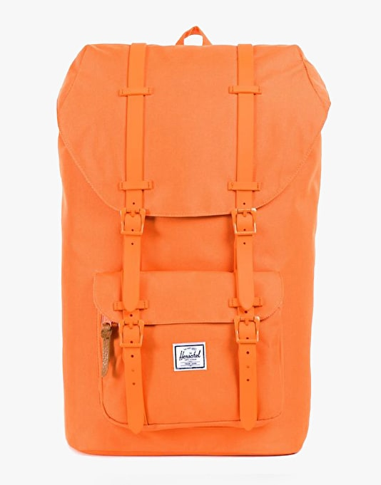 Herschel Supply Co. Little America Backpack - Mandarin Rubber