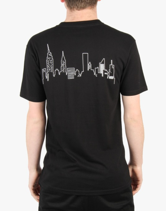 Mighty Healthy x Gino Iannucci City F.C. T-Shirt - Black