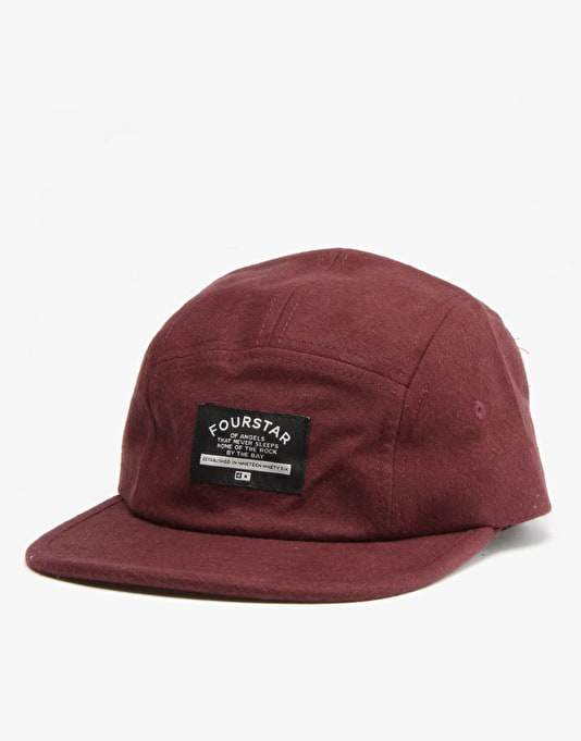 Fourstar Lucas 5 Panel Cap - Red