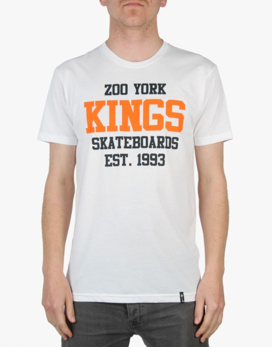 Zoo York Kings Gym T-Shirt - White
