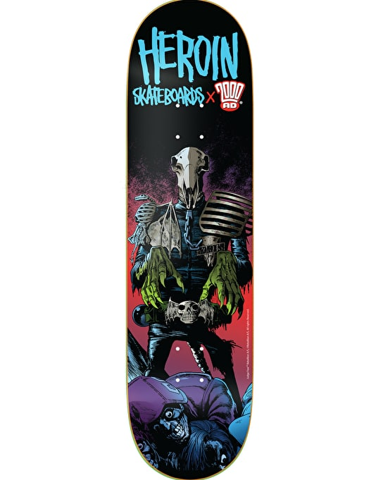 Heroin x 2000 AD Dark Judges Mortis Team Deck - 8.38""