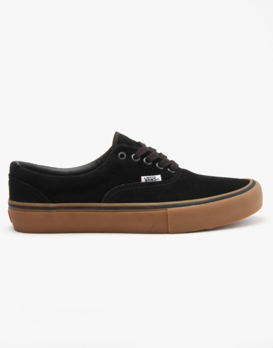 Vans Era Pro Skate Shoes - Black/Gum