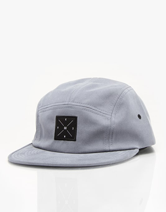 KR3W Smith 5 Panel Cap - Grey