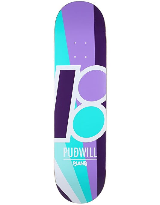 Plan B Pudwill Rays Pro Deck - 8""