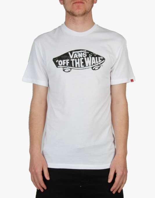 Vans OTW Mixed Fill T-Shirt - White