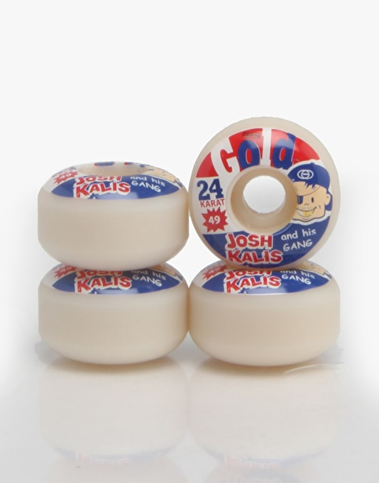 Gold Kalis Bazooka Pro Wheel - 49mm