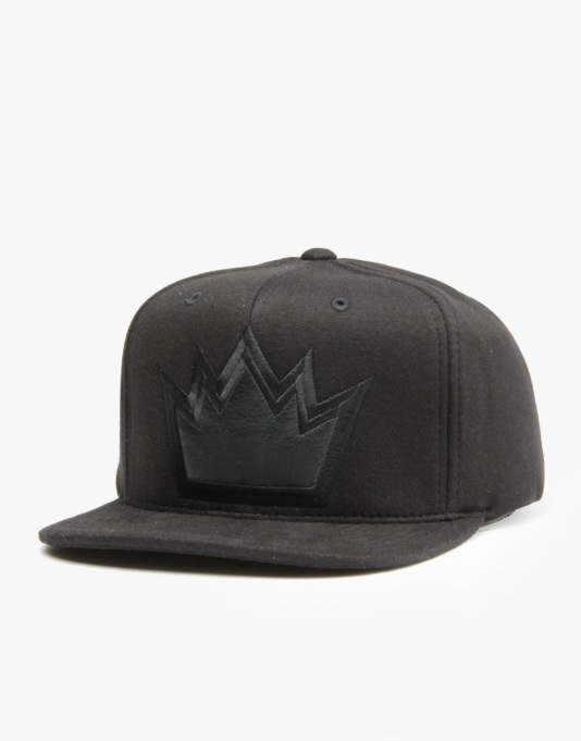 Mitchell & Ness NBA Sacramento Kings Black Out Snapback Cap - Black