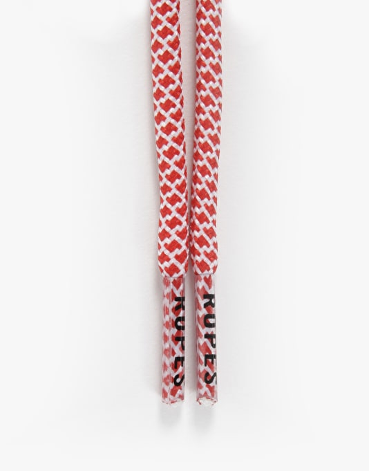 Ropes Laces Classic Lace - Santa (Red/White)