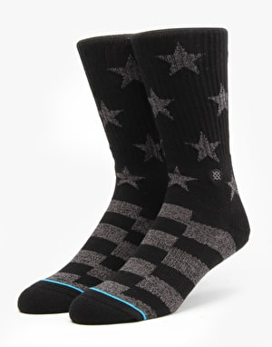 Stance Richmond Classic Crew Socks - Black