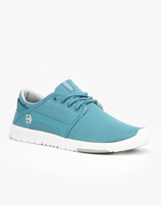 Etnies Scout Shoes - Blue/Grey