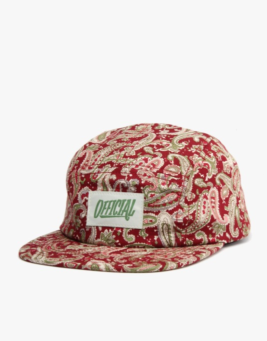 Official Paisley Snapback Cap - All Over Paisley