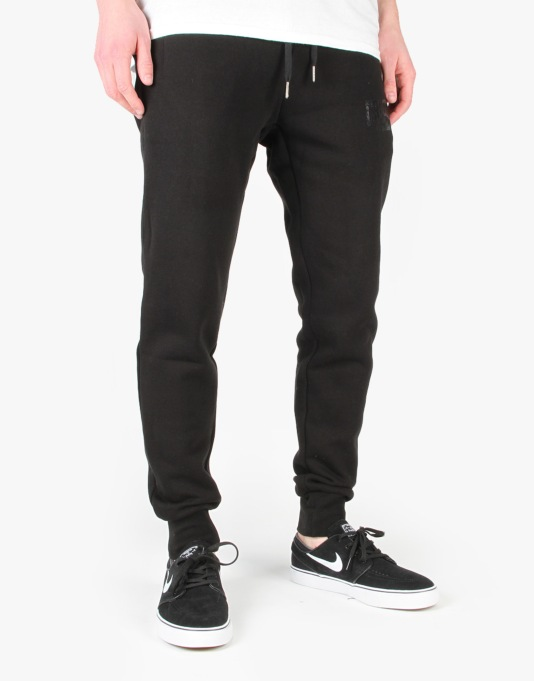 Crooks & Castles Core Logo Sweatpants - Black