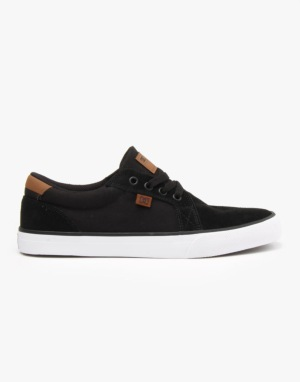 DC Council S Skate Shoes - Black/Brown/White