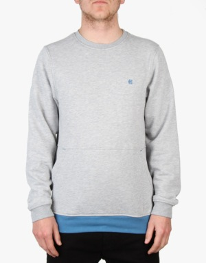 Etnies Ballast Crew Sweatshirt - Grey/Heather