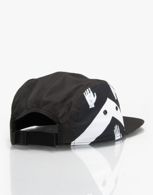 Mighty Healthy x Gino Iannucci 5 Panel Cap - Black
