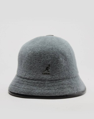 Kangol Shavora Casual Bucket Hat - Slate Grey