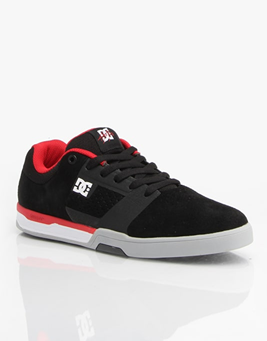 DC Cole Lite 2 Skate Shoes - Black/Red