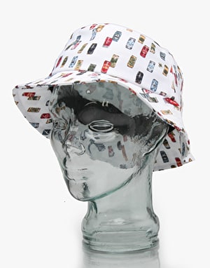 Acapulco Gold Beer Cans Bucket Hat - White