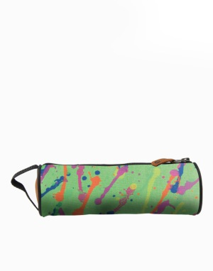 Mi-Pac Pencil Case - Splattered Neon Green