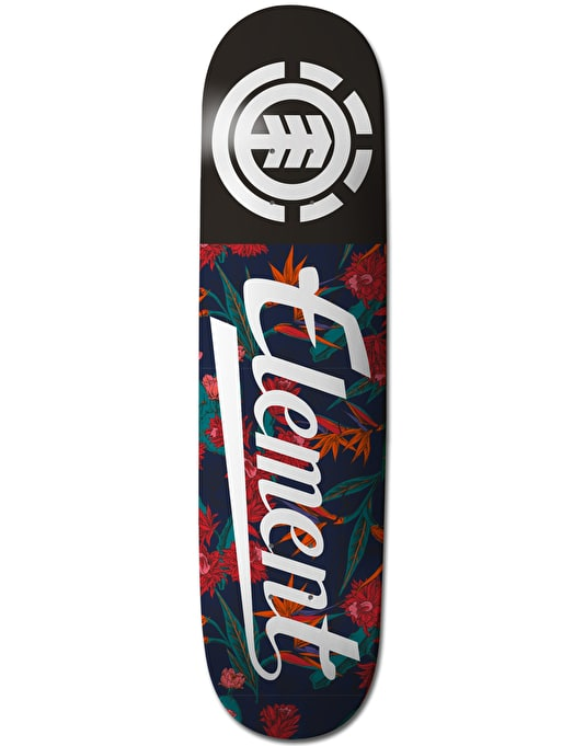 Element Sketch Floral Script Thriftwood Team Deck - 8.25""