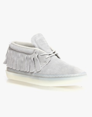 Clear Weather One-O-One Shoes - Grey Suede