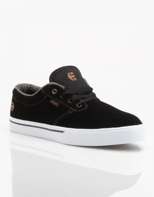 Etnies Jameson 2 Skate Shoes - Black/Brown/Grey