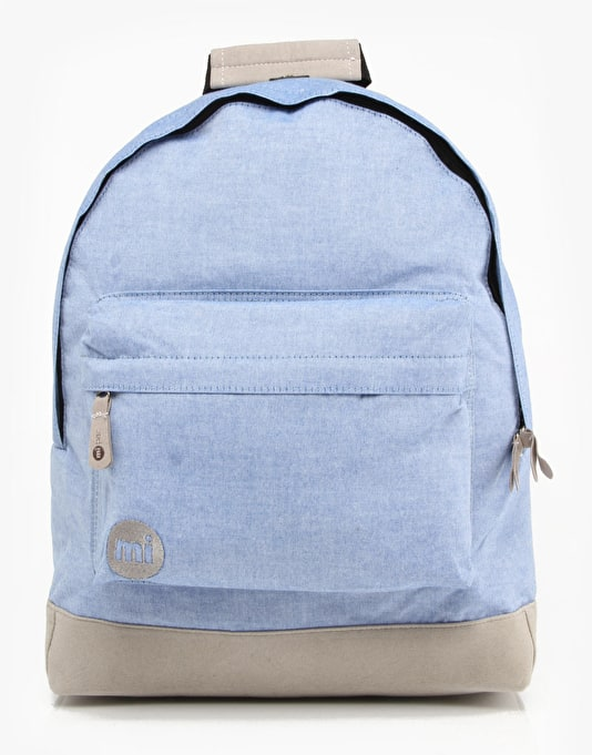 Mi-Pac Chambray Backpack - Blue