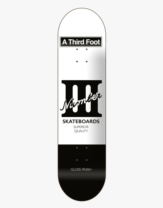 A Third Foot Card Team Deck - 8.375""