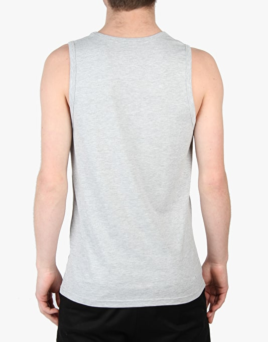 Volcom Cicle Stone Basic Vest - Heather Grey