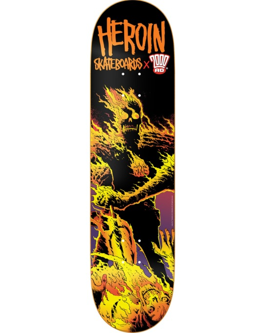 Heroin x 2000 AD Dark Judges Fire Team Deck - 8""