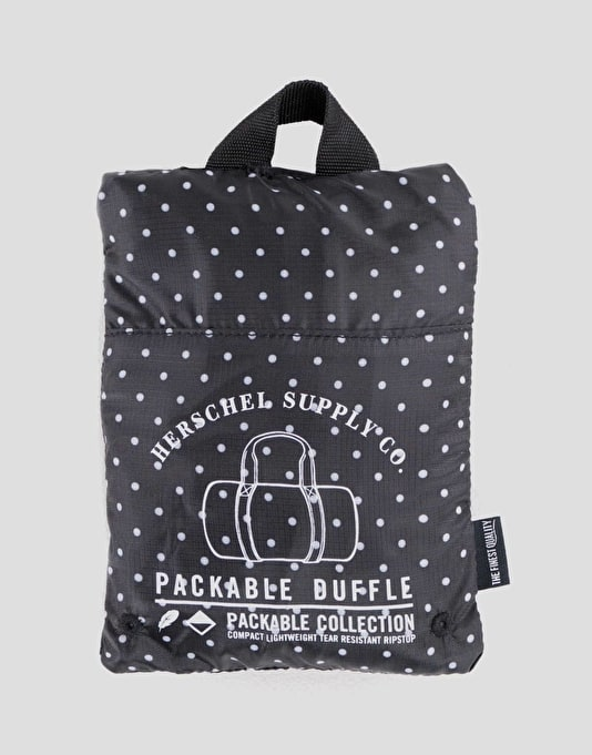 Herschel Supply Co. Packable Duffel Bag - Polka