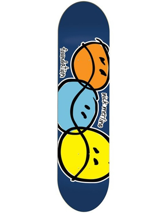 Foundation Merlino Bi-Polar Pro Deck - 8.125""