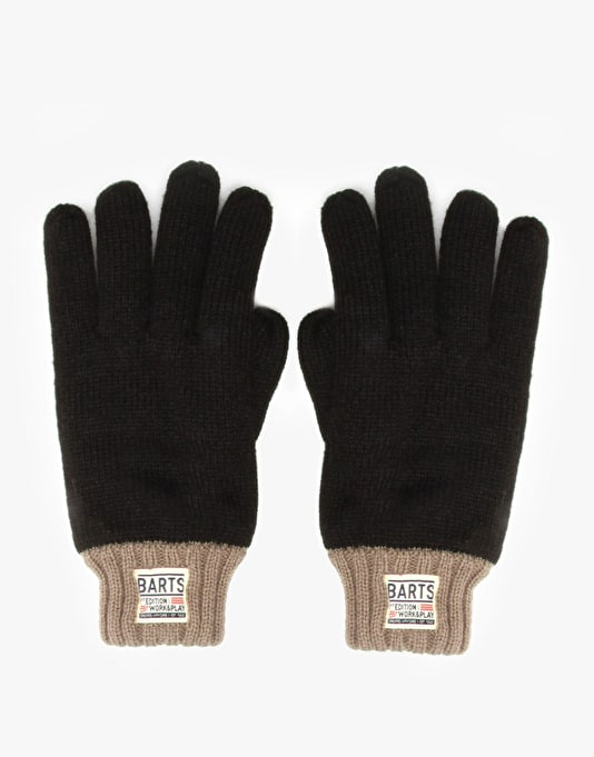 Barts Nadal Gloves - Black