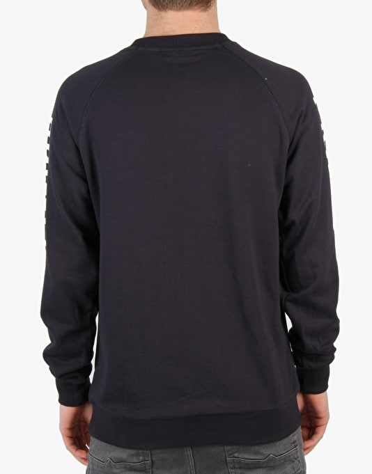 Primitive Slab Type Crewneck Sweatshirt - Navy