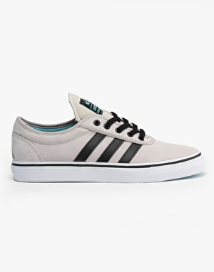 Adidas x Welcome Adi-Ease ADV Skate Shoes - Stone/Black/Light Aqua