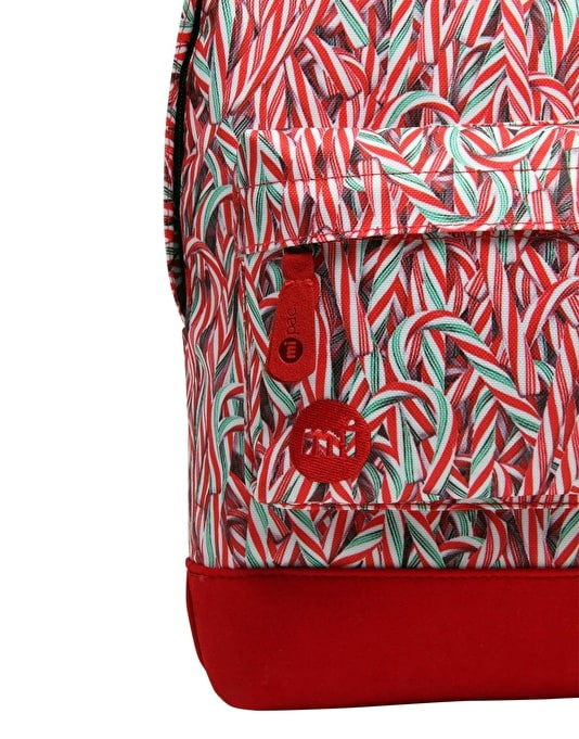 Mi-Pac Mini Candy Canes Backpack - Red/Multi
