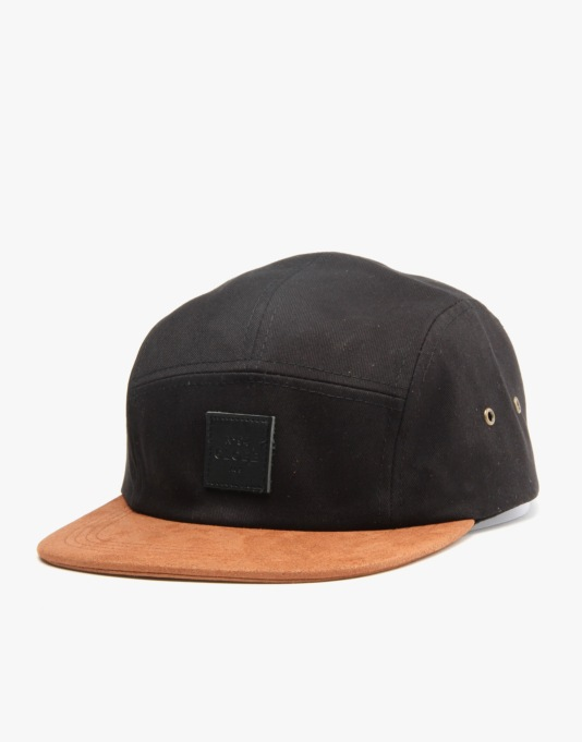 Globe Errol 5 Panel Cap - Black